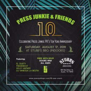 Press Junkie & Friends